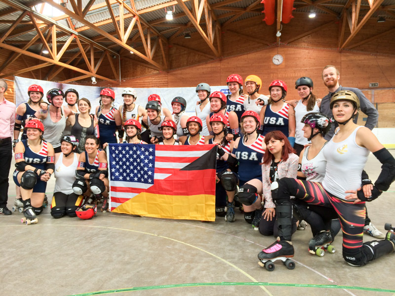 Roll-Line RD - USA Boot camp Stuttgard